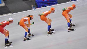 Patinaje sobre hielo de velocidad