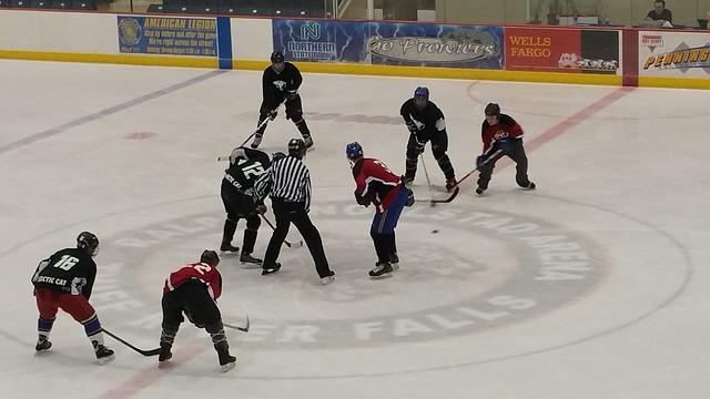 deporte hochey sobre hielo