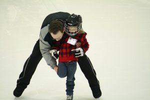 patinaje hielo niños