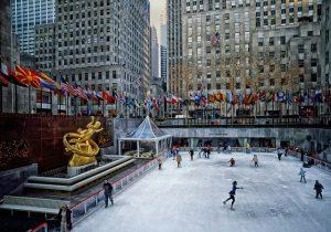 pista de patinaje hielo