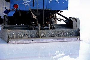 pista hielo patinaje artificial